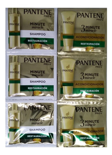 Acondicionador + Shampooo Pantene 48 Sobrecitos Total
