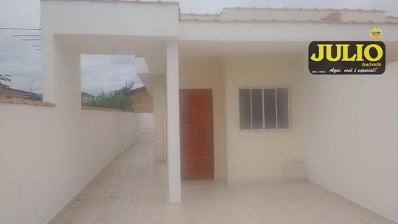 Entrada R$ 32 Mil + Saldo Financiado Pela Caixa. Região Gaivotas Casa Com 2 Dormitorios Em Itanhaém Aceita Financiamento Caixa - Ca2466