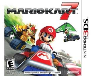 Nintendo Ctr-p-amke Sw 3ds Mario Kart 7 .