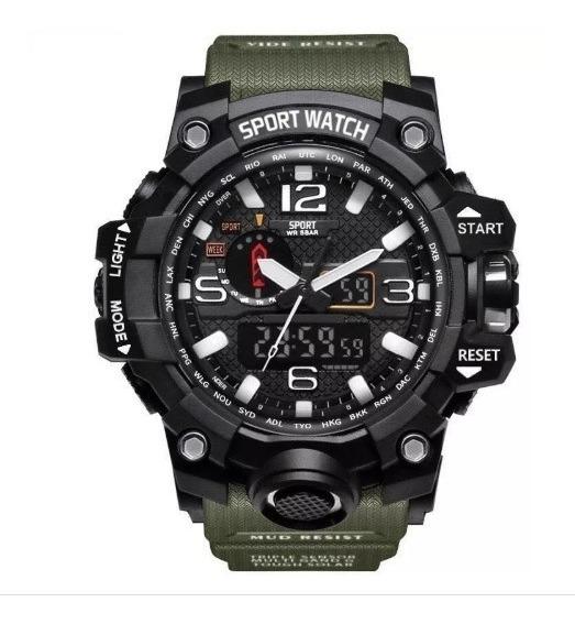 Relógio Sport Watch Esportivo Militar Prova D