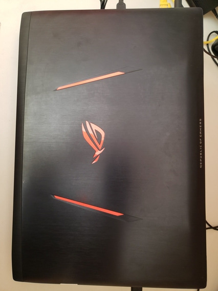 Notebook Gamer Asus Rog Strix I7 Gtx 1070 Zerado + Cooler
