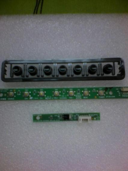 Teclado E Receptor Da Tv Hbuster Hbtv-32l06hd Semi Nova!