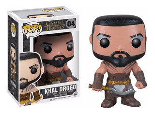 Funko Pop #04 - Khal Drogo - Got Game Of Thrones - Original!