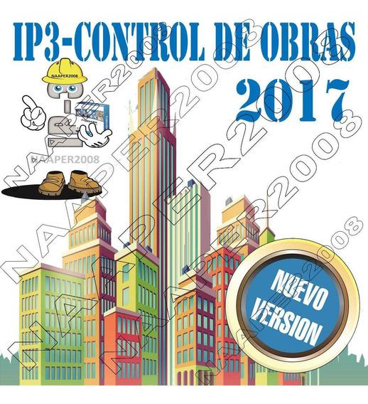 Ip3 Version 2017 Control De Obra Con Bdd De Este Mes Lulowin