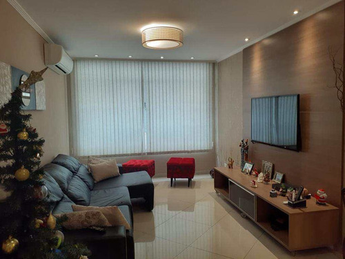 Apartamento Com 3 Dorms, Marapé, Santos - R$ 550 Mil, Cod: 1473 - V1473