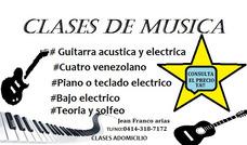 Clases Particulares De Musica Adomicilio