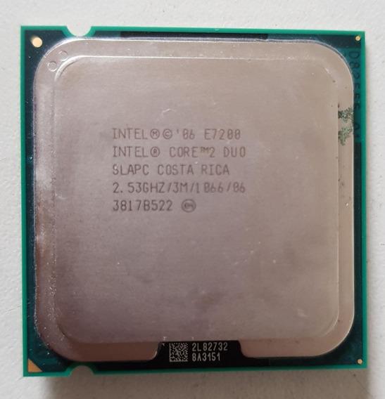 Processador 775 Intel Core 2 Duo E7200 2,53 Usado Ref: 01505