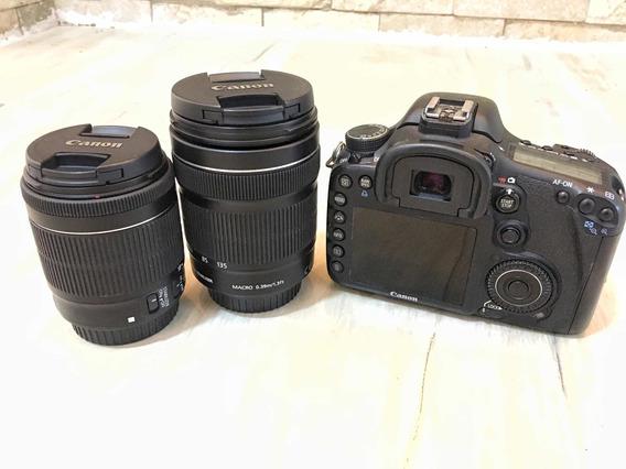 Canon 7d Com 2 Lentes