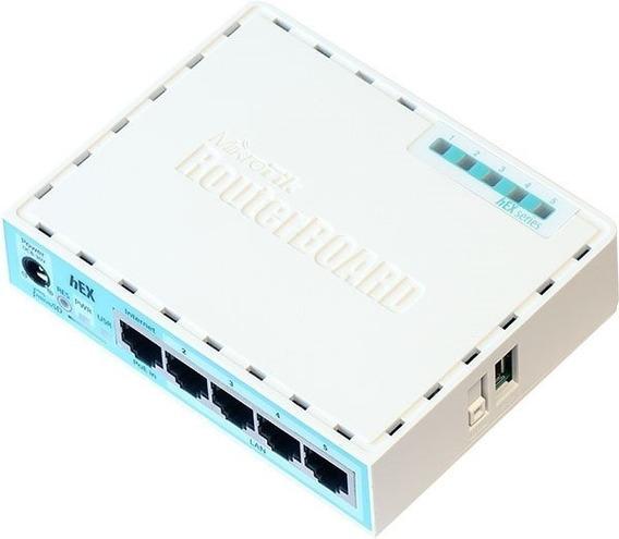Mikrotik - Routerboard Rb 750gr3 Hex Rb750 Novo Nfe