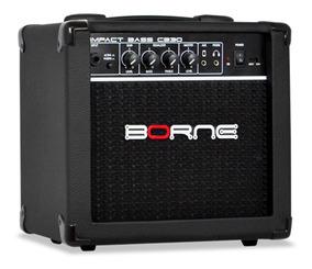 Amplificador Cubo Borne Cb30 15w Impact Bass Baixo