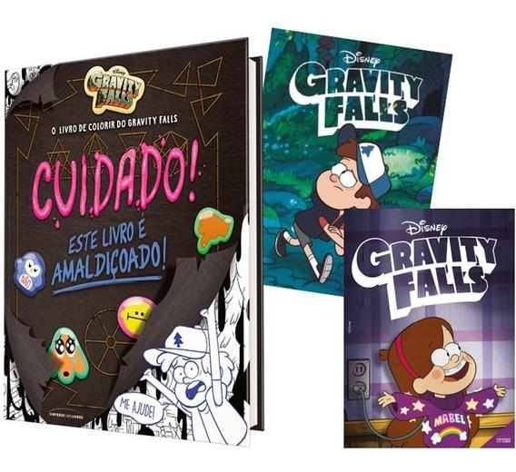 Livro De Colorir Do Gravity Falls: Cuidado! Grátis 2 Posters