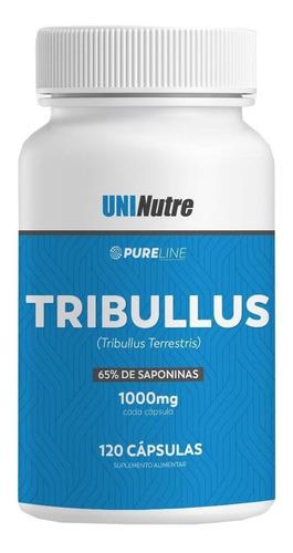 Tribulus Terrestris 1000mg 120caps -65% De Saponina C/ Laudo