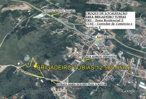 Imagem 1 de 1 de Terreno À Venda, 12580 M² Por R$ 3.774.285,00 - Caputera - Sorocaba/sp - Te3720