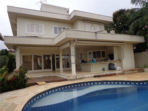 Casa Residencial À Venda, Condominio Estancia Paraiso, Campinas - Ca1373