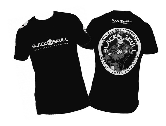Camiseta Black Skull - Soldado Bope