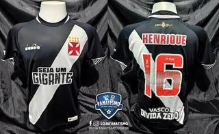 Camisa Vasco Oficial I Diadora 2018 #16 Henrique De Jogo