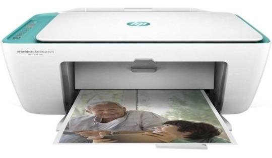 Impressora Multifuncional Hp 2676 Vitrine