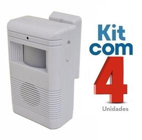 Sensor De Presença Sonoro C/ Excelente Qualidade 4 Unidades