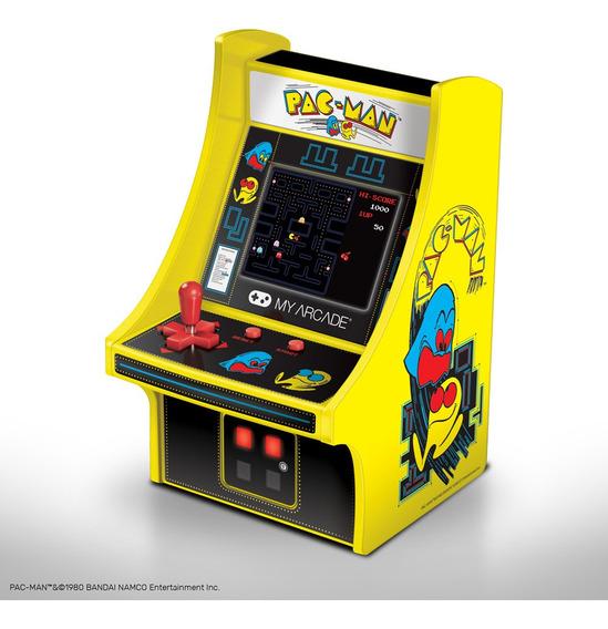 Micro Arcade Retro Con Juego Pac-man Micro Maquinita Clásica