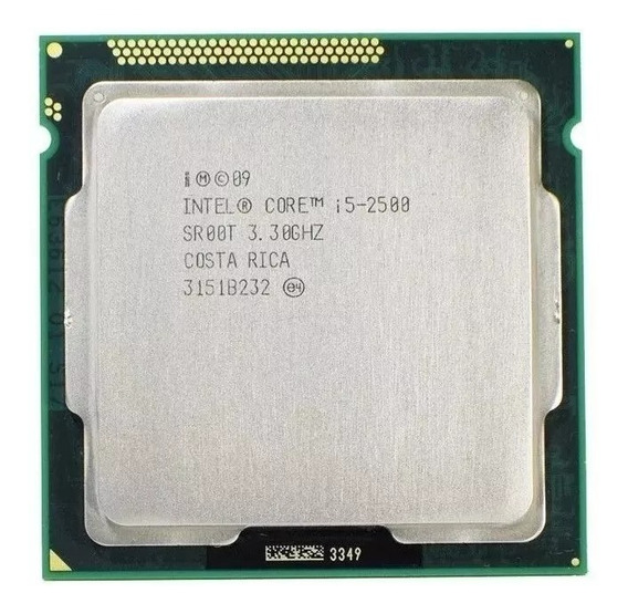 Processador Intel Core I5 2500 3.3 Ghz 1155 2g + Cooler Box
