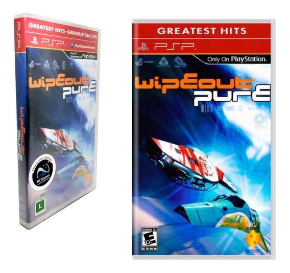 Jogo Psp Wipeout Pure Game Playstation Ação Corrida Dvd Sony