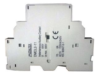 Contato Auxiliar Lateral 1na+1nf P/ Disjuntor Motor Metaltex
