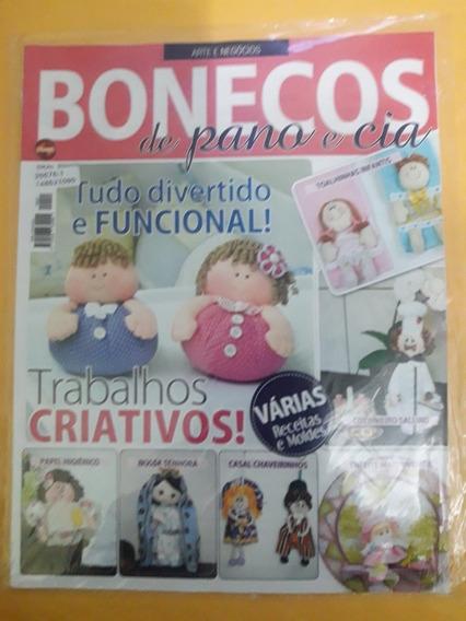 Revista Arte E Negócios - Bonecos De Pano E Cia