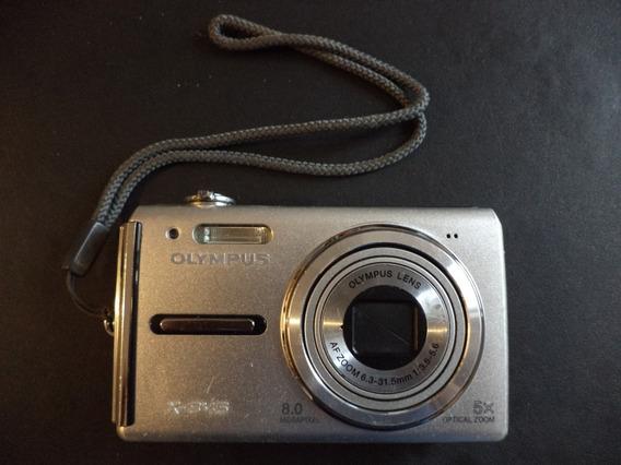 Máquina Fotográfica Olympus X-845 Funcionando