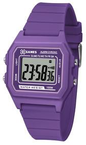 Relógio X-games Roxo Xlppd030bxux