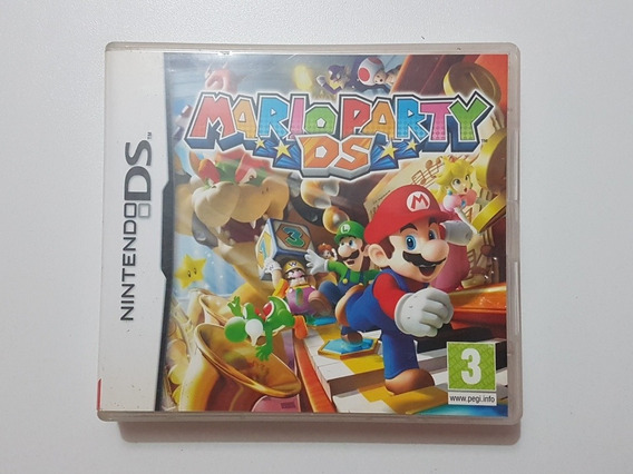 Capa Mario Party Ds Original Para Nintendo Ds