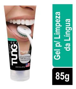Tung Gel Fresh Mint Para Limpeza Da Língua 85g