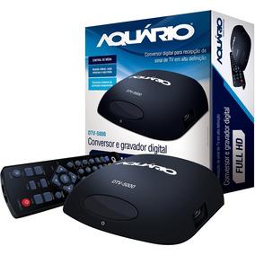 Conversor E Gravador Digital Aquário Dtv-5000 Full Hd