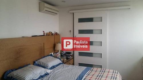 Cobertura Com 3 Dormitórios À Venda, 230 M²  - Vila Clementino - São Paulo/sp - Co0827