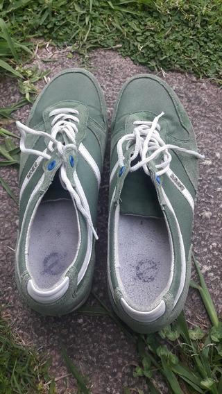 Zapatillas Satori Hombre Verdes Talle 42
