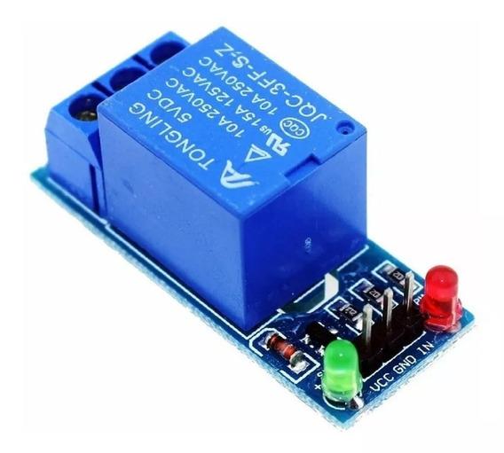Módulo Rele 1 Canal 5v/10a Com Led Indicador Serve Arduino