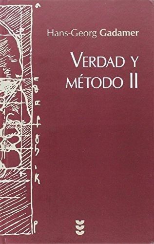 Verdad Y Método Vol. 2, Hans Georg Gadamer, Sígueme