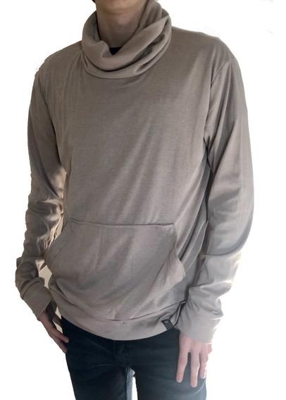 Polera De Jersey Hombre - Gris / Beige - B A Jeans