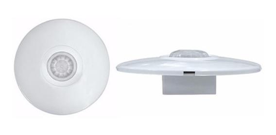 Sensor De Presença De Teto Com Fotocélula - Primetech