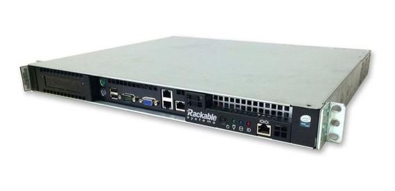Servidor Intel Rack 1u 02 Xeon 32 Giga Hd Ssd 480 Giga