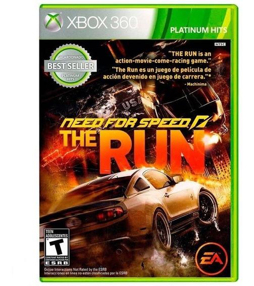 Need For Speed The Run Xbox 360 Mídia Física Lacrado Nfe