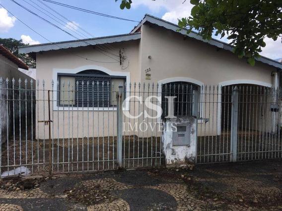 Casa Com 2 Dormitórios À Venda, 200 M² Por R$ 350.000 - Jardim Nossa Senhora Auxiliadora - Campinas/sp - Ca0880