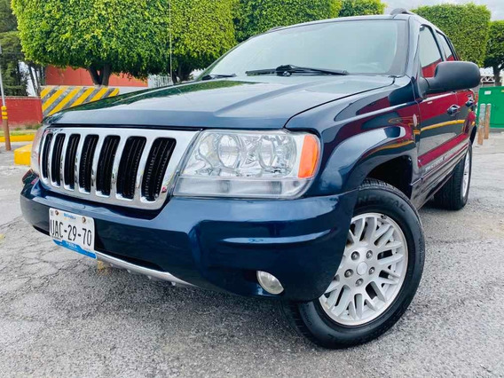 Jeep Grand Cherokee 2004 Limited V8 Qc 4x4 At Autos Puebla