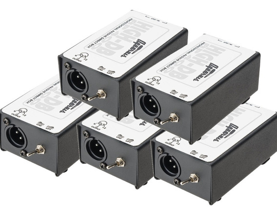 Kit 5 Direct - Box Passivo Cabos Aquarius - Pronta Entrega