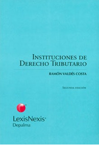 Instituciones De Derecho Tributario