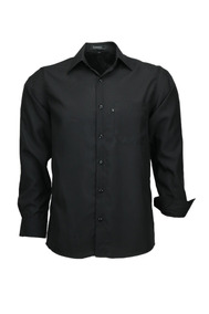 Camisa Microleve Manga Longa - Preta - Ref 832