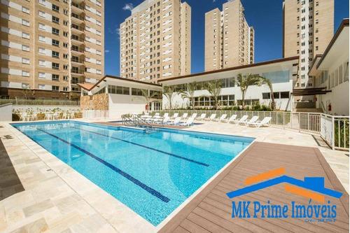 Imagem 1 de 15 de Lindo Apartamento Com Armários Planejados 48m² No Flex Osasco Ii - 2305