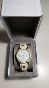 Relógio Dkny Branco Original