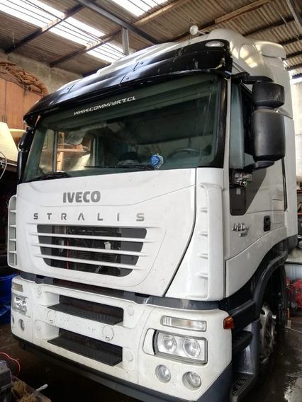Cabina - Motor Iveco Stralis