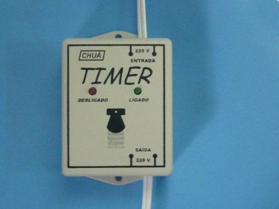 Temporizador Para Chuveiro 8, 10 E 15 Min - Timer Chuá