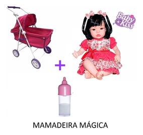 72bbbea8f320 Berço De Bb Reborn De 70 Cm - Brinquedos e Hobbies no Mercado Livre ...
